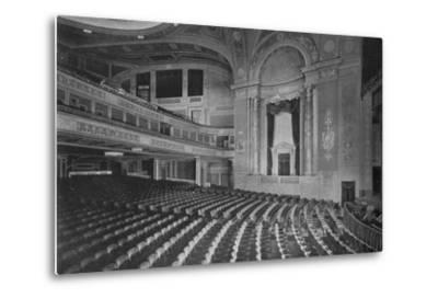 Auditorium of the Premier Theatre, Brooklyn, New York, 1925--Metal Print