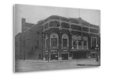 Front elevation, Fort Armstrong Theatre, Rock Island, Illinois, 1925--Metal Print