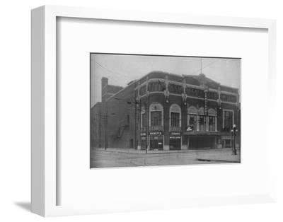 Front elevation, Fort Armstrong Theatre, Rock Island, Illinois, 1925--Framed Photographic Print