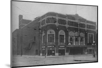 Front elevation, Fort Armstrong Theatre, Rock Island, Illinois, 1925--Mounted Photographic Print