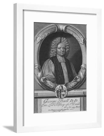 George Bull D.D, Late Lord Bishop of St. Davids, c18th century--Framed Giclee Print