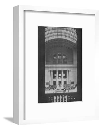 Main waiting room, Chicago Union Station, Illinois, 1926--Framed Photographic Print