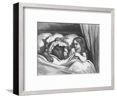 The Disguised Wolf, 1870-Adolphe François Pannemaker-Framed Giclee Print