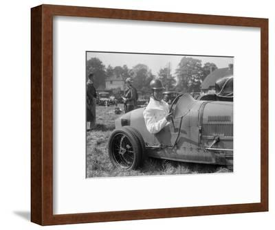 Bugatti Type 35, Bugatti Owners Club Hill Climb, Chalfont St Peter, Buckinghamshire, 1935-Bill Brunell-Framed Photographic Print