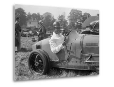 Bugatti Type 35, Bugatti Owners Club Hill Climb, Chalfont St Peter, Buckinghamshire, 1935-Bill Brunell-Metal Print