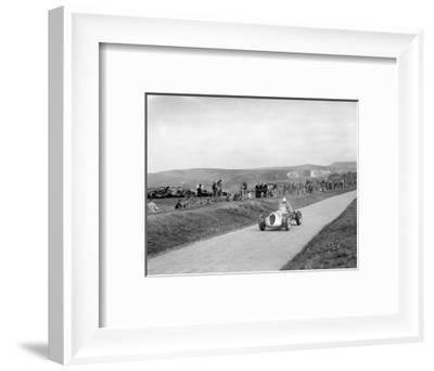 RJW Appletons Appleton-Riley Special, Lewes Speed Trials, Sussex, 1938-Bill Brunell-Framed Photographic Print