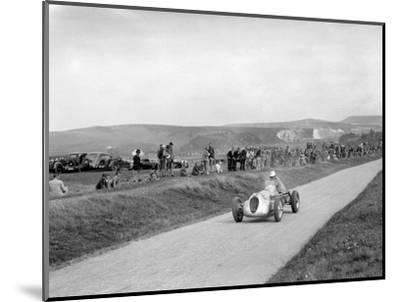 RJW Appletons Appleton-Riley Special, Lewes Speed Trials, Sussex, 1938-Bill Brunell-Mounted Photographic Print