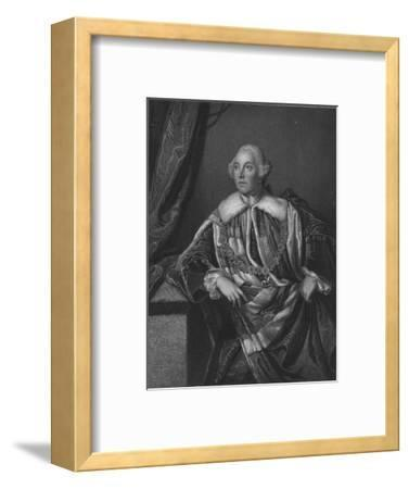 John Russell, 4th Duke of Bedford, 1832-Henry Robinson-Framed Giclee Print