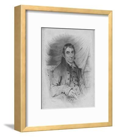 Mr Samuel Drew, 1819-Robert Hicks-Framed Giclee Print