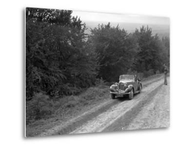 1936 Talbot 10 1185 cc competing in a Talbot CC trial-Bill Brunell-Metal Print