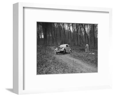 1937 Standard Twelve at the Standard Car Owners Club Southern Counties Trial, 1938-Bill Brunell-Framed Photographic Print
