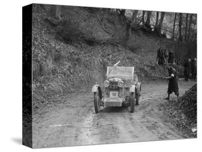 MG M Type 12 - 12 replica of Viscount Curzon, MG Car Club Trial, Waterworks Hill, Tring, 1931-Bill Brunell-Stretched Canvas Print