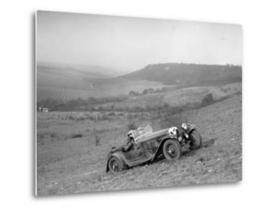 HRG competing in the London Motor Club Coventry Cup Trial, Knatts Hill, Kent, 1938-Bill Brunell-Metal Print