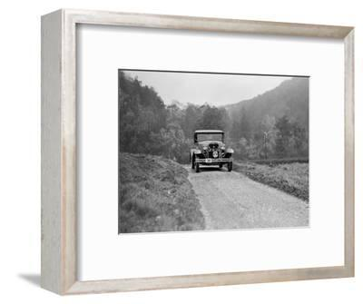 Ford Model A of EAL Midgely competing in the MCC Sporting Trial, 1930-Bill Brunell-Framed Photographic Print