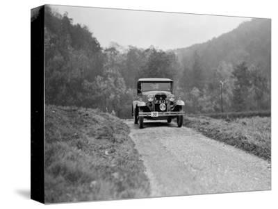Ford Model A of EAL Midgely competing in the MCC Sporting Trial, 1930-Bill Brunell-Stretched Canvas Print