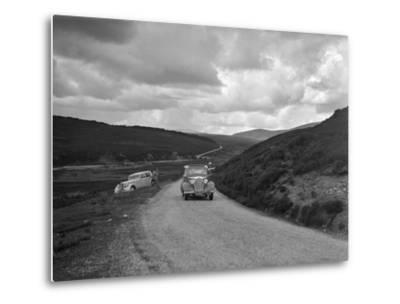 Vauxhall of Dr AT Halton competing in the RSAC Scottish Rally, 1936-Bill Brunell-Metal Print