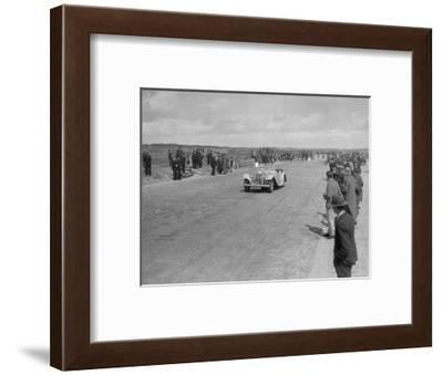 SS 1 4-seater tourer competing in the RSAC Scottish Rally, 1934-Bill Brunell-Framed Photographic Print