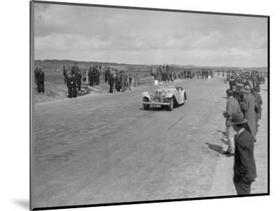 SS 1 4-seater tourer competing in the RSAC Scottish Rally, 1934-Bill Brunell-Mounted Photographic Print