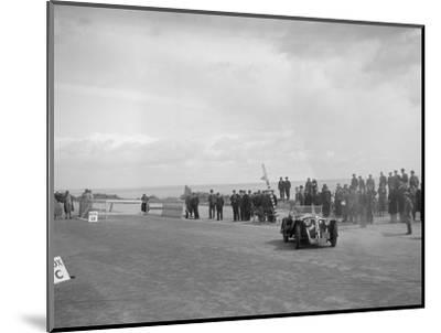 Home-built Cowal 2-seater sports of JW Robertson competing in the RSAC Scottish Rally, 1934-Bill Brunell-Mounted Photographic Print