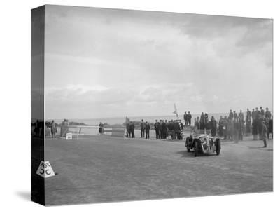 Home-built Cowal 2-seater sports of JW Robertson competing in the RSAC Scottish Rally, 1934-Bill Brunell-Stretched Canvas Print