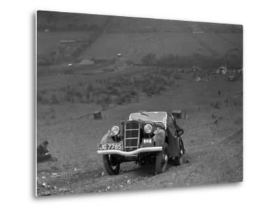 Ford Model C Ten competing in the London Motor Club Coventry Cup Trial, Knatts Hill, Kent, 1938-Bill Brunell-Metal Print