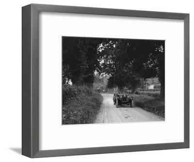 Talbot 18 - 55 4-seater tourer competing in the JCC Inter-Centre Rally, 1932-Bill Brunell-Framed Photographic Print