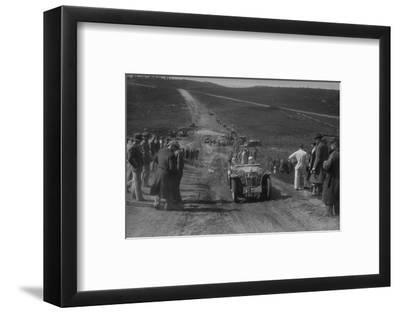 1934 MG PA competing in a motoring trial, Bagshot Heath, Surrey, 1930s-Bill Brunell-Framed Photographic Print