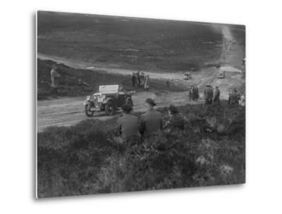 Morris Minor competing in a motoring trial, Bagshot Heath, Surrey, 1930s-Bill Brunell-Metal Print