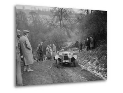 Frazer-Nash Boulogne II of P Lees competing in the Sunbac Colmore Trial, Gloucestershire, 1933-Bill Brunell-Metal Print