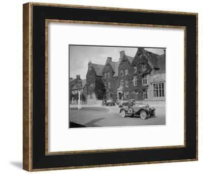 Calthorpe 4-seater tourer, Broadway, Worcestershire, c1920s-Bill Brunell-Framed Photographic Print