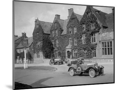 Calthorpe 4-seater tourer, Broadway, Worcestershire, c1920s-Bill Brunell-Mounted Photographic Print