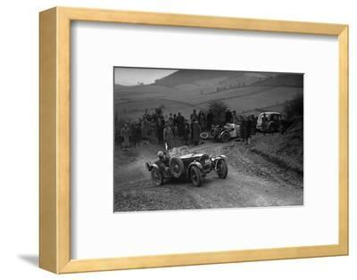 Frazer-Nash TT replica of TN Clare competing in the MG Car Club Midland Centre Trial, 1938-Bill Brunell-Framed Photographic Print