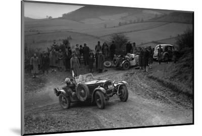 Frazer-Nash TT replica of TN Clare competing in the MG Car Club Midland Centre Trial, 1938-Bill Brunell-Mounted Photographic Print