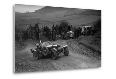 Frazer-Nash TT replica of TN Clare competing in the MG Car Club Midland Centre Trial, 1938-Bill Brunell-Metal Print
