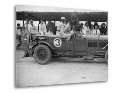 Winning Bentley of Jack Dunfee and Woolf Barnato, BARC 6-Hour Race, Brooklands, Surrey, 1929-Bill Brunell-Metal Print