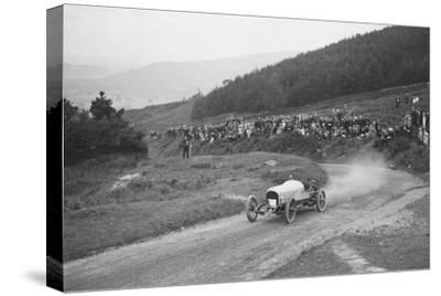 Bertie Kensington Moirs Bentley stripped 2-seater, Caerphilly Hillclimb, Wales, 1923-Bill Brunell-Stretched Canvas Print