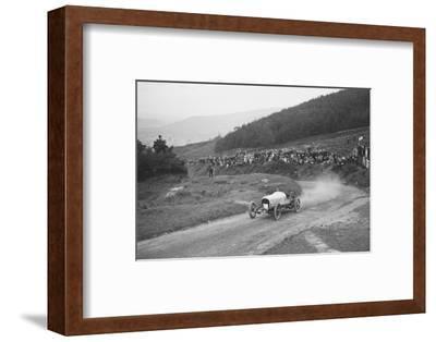 Bertie Kensington Moirs Bentley stripped 2-seater, Caerphilly Hillclimb, Wales, 1923-Bill Brunell-Framed Photographic Print