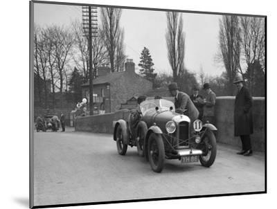 Amilcar Standard Sports at the Ilkley & District Motor Club Trial, Thirsk, Yorkshire, 1930s-Bill Brunell-Mounted Photographic Print