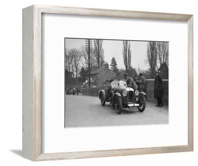Amilcar Standard Sports at the Ilkley & District Motor Club Trial, Thirsk, Yorkshire, 1930s-Bill Brunell-Framed Photographic Print
