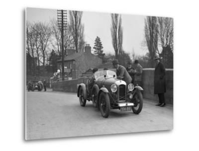 Amilcar Standard Sports at the Ilkley & District Motor Club Trial, Thirsk, Yorkshire, 1930s-Bill Brunell-Metal Print