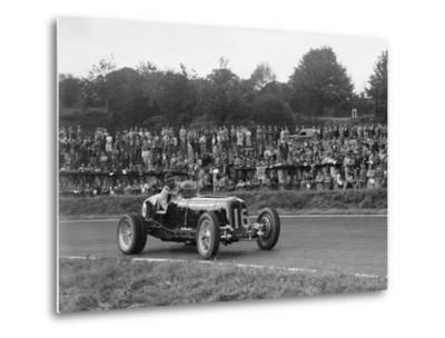 ERA of Raymond Mays racing at Crystal Palace, London, 1939-Bill Brunell-Metal Print