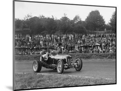 ERA of Raymond Mays racing at Crystal Palace, London, 1939-Bill Brunell-Mounted Photographic Print