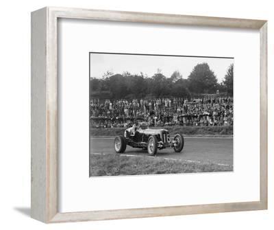 ERA of Raymond Mays racing at Crystal Palace, London, 1939-Bill Brunell-Framed Photographic Print