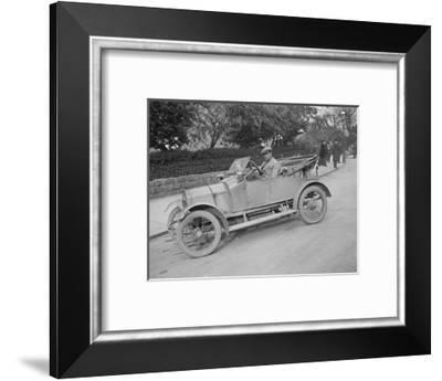Swift car taking part in a motoring trial, c1920s-Bill Brunell-Framed Photographic Print