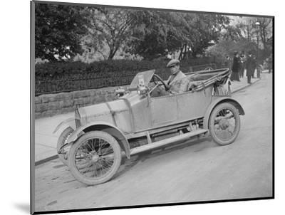 Swift car taking part in a motoring trial, c1920s-Bill Brunell-Mounted Photographic Print
