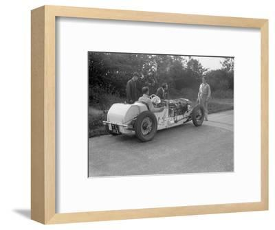Road testing Raymond Mays Vauxhall-Villiers, c1930s-Bill Brunell-Framed Photographic Print