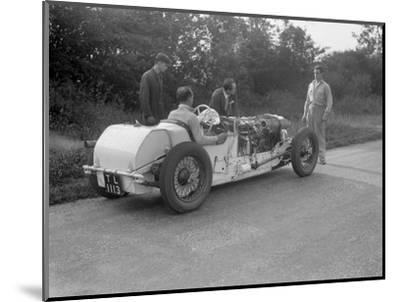 Road testing Raymond Mays Vauxhall-Villiers, c1930s-Bill Brunell-Mounted Photographic Print