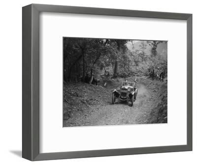 Frazer-Nash Sportop taking part in a motoring trial, c1930s-Bill Brunell-Framed Photographic Print
