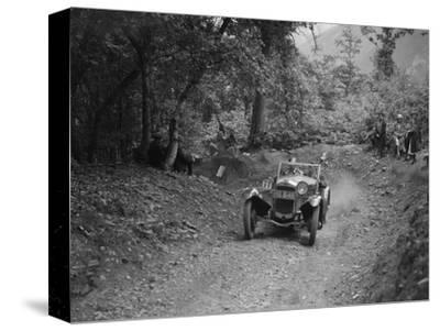 Frazer-Nash Sportop taking part in a motoring trial, c1930s-Bill Brunell-Stretched Canvas Print