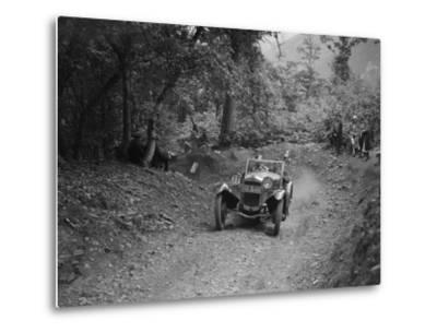 Frazer-Nash Sportop taking part in a motoring trial, c1930s-Bill Brunell-Metal Print